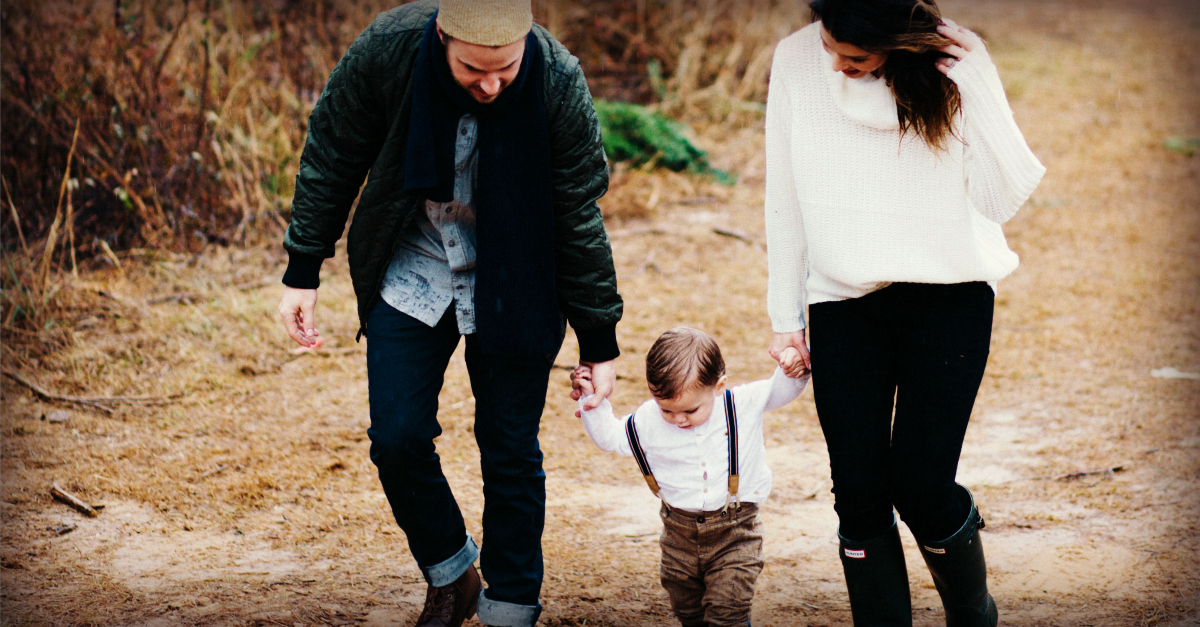 Walking Hand in Hand with Our Father We Find Everything We Need