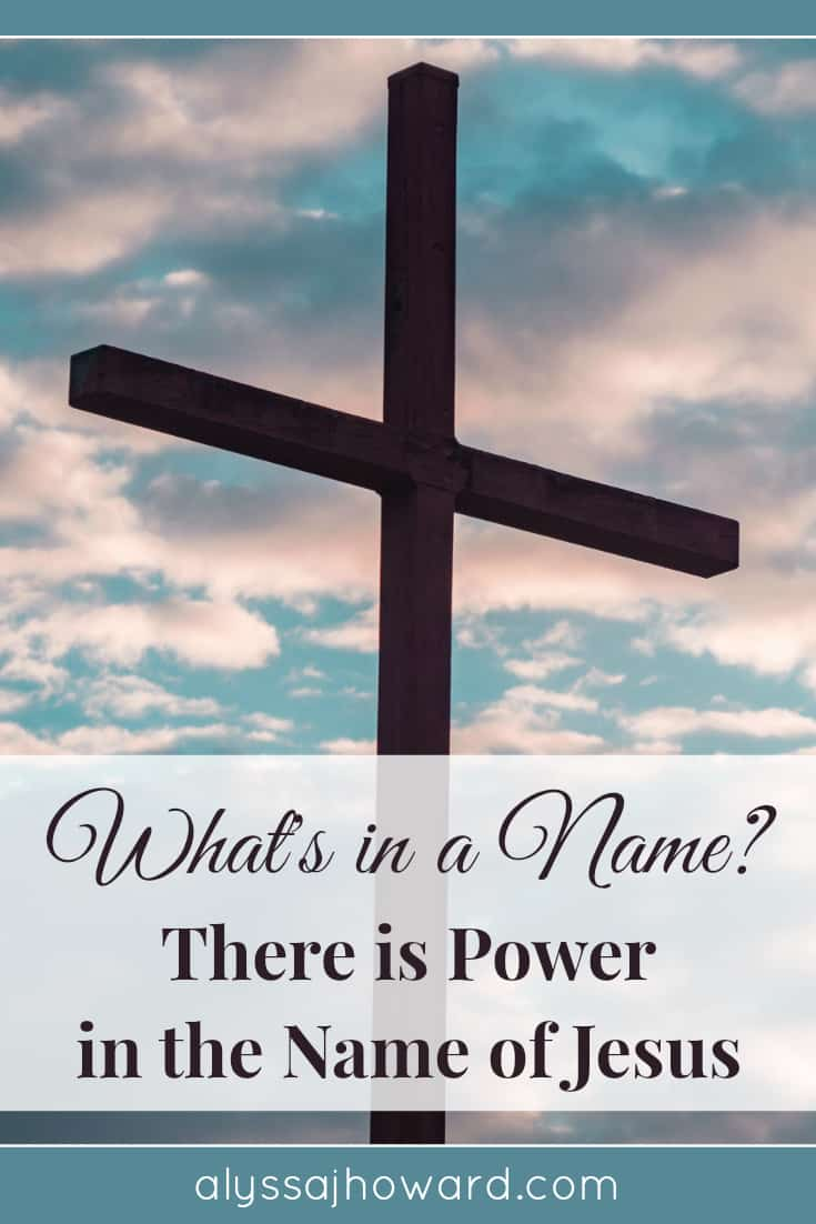 The name of Jesus causes demons to flee, brings us healing, sets us free, and restores our relationship with the Father through the forgiveness of sins.