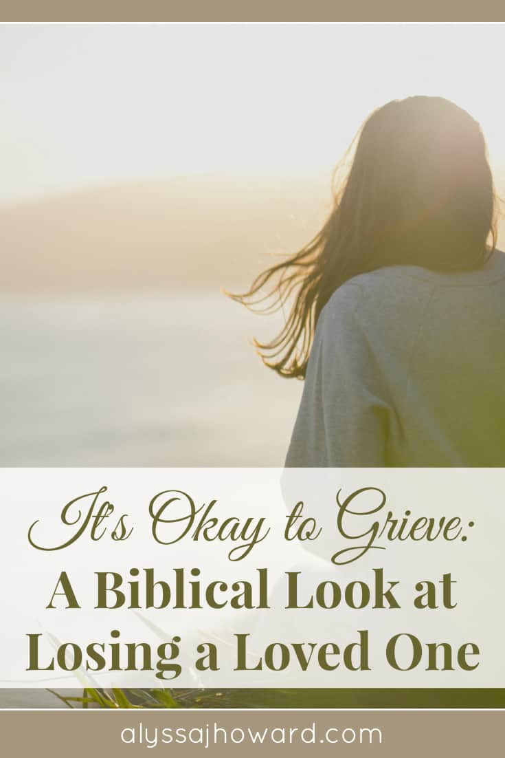 As believers, it is okay to grieve. Grieving is a process that teaches us how to fully surrender our pain to God so that He can heal our hearts.