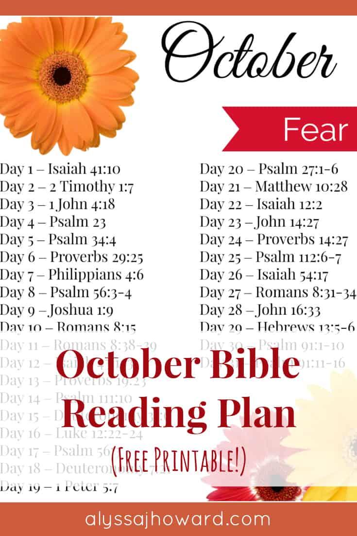 October Bible Reading Plan   alyssajhoward.com