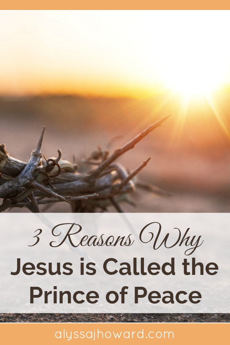 Jesus is referred to as our Prince of Peace in the book of Isaiah. But what does this title mean exactly? And why is it important for us today?