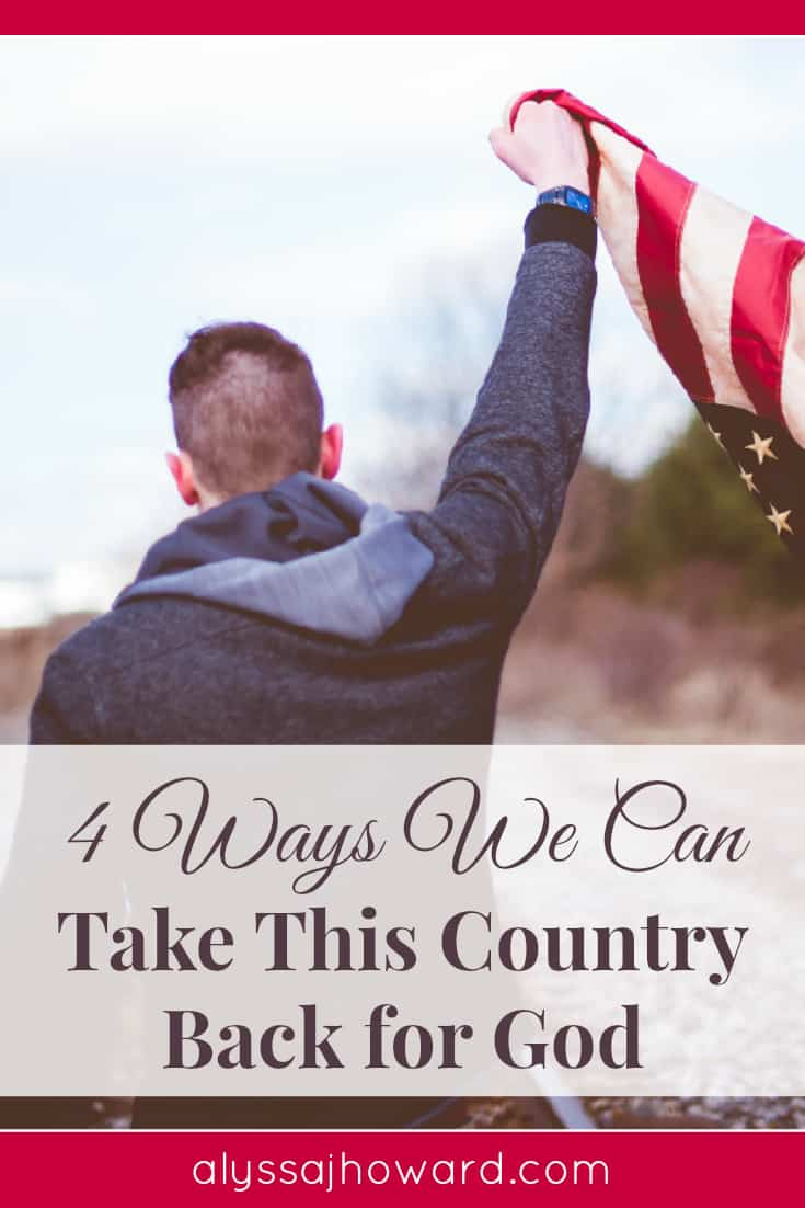 On almost a daily basis, I hear someone say or read an article that declares just how far we've come from the truth of God. So where do we go from here? Do we simply throw in the towel and give up on our nation? Or do we fight and take back this country for God? Is it even possible?