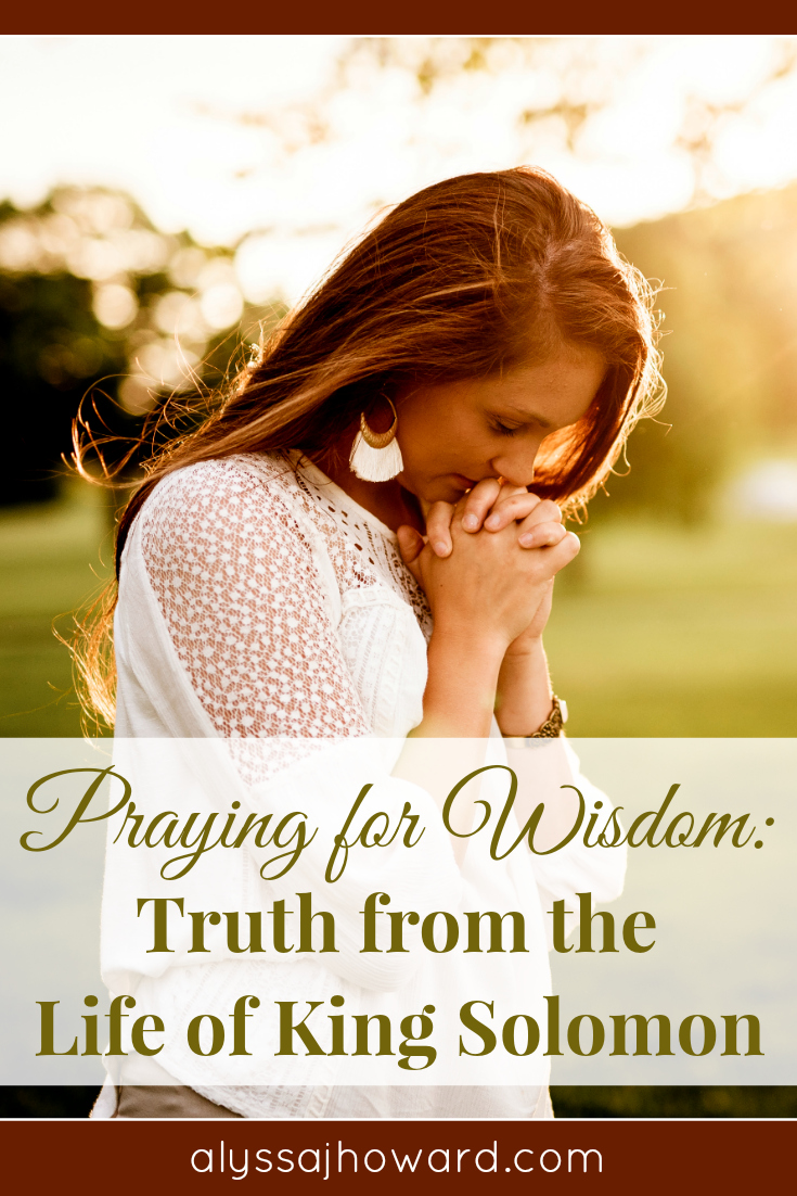 Do you ever find yourself praying for wisdom? The truth is that God longs to give us His gift of wisdom. It is then that His wisdom can be displayed on earth through us.
