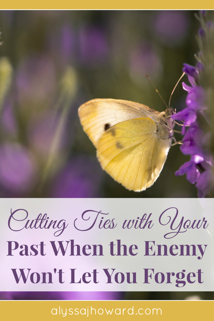 Cutting ties with your past is an essential part of becoming a new creation. While God will use your past for His glory, the enemy will try to use it against you.