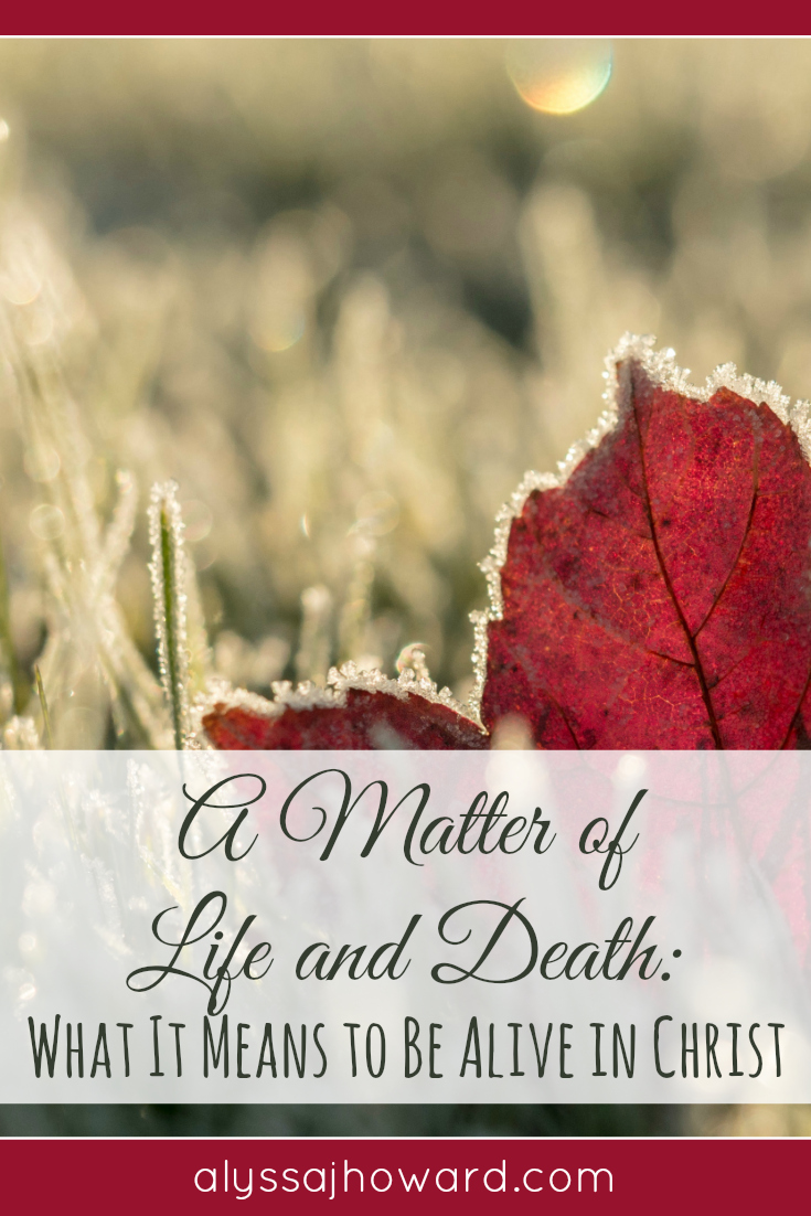 What I am about to tell you is a matter of life and death. Why? Because without Christ, you will die. But in Him, you will experience life everlasting.