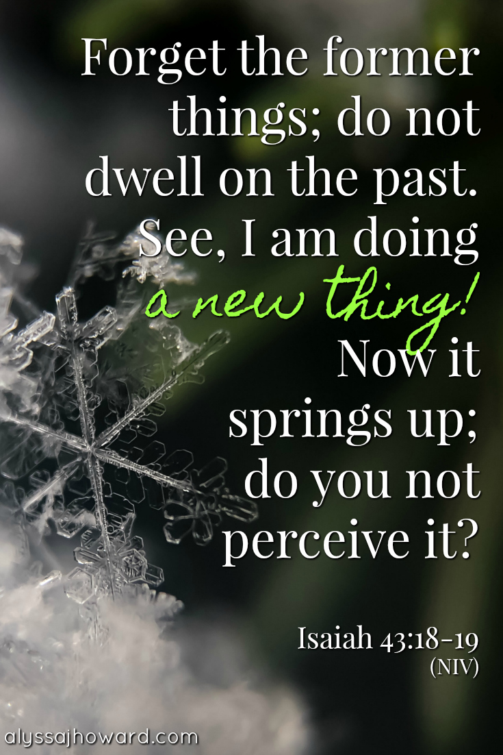 Behold, God is Making All Things New (including you!) | alyssajhoward.